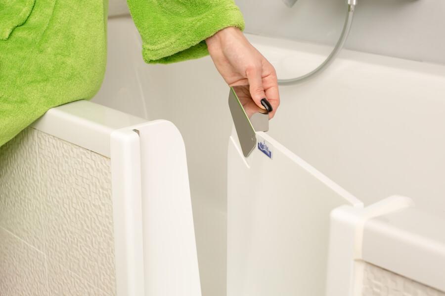 Dusch Badewanne mit Tuer beratung